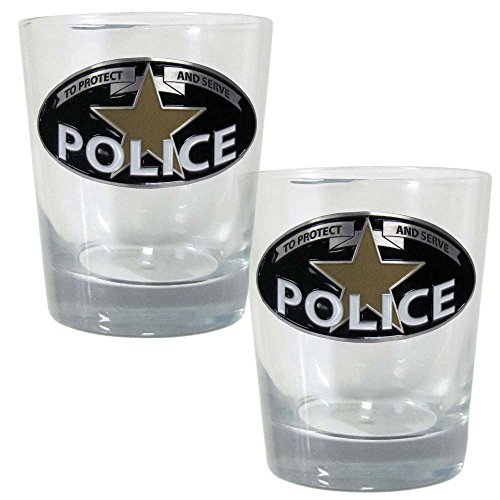Polizei Rocks Glas Set