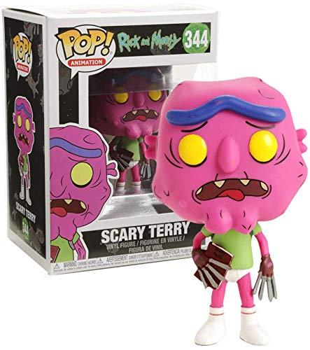 FunKo Rick y Morty Pop! Animación Scary Terry Vinyl Figure Hot Topic Exclusive