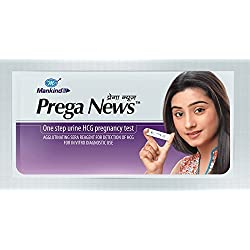 Preganews Pregnancy Test Strips(Pack of 1)