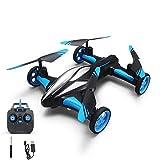 JJRC Drone telecomando quattro assi e aria Dual modalità: aeromobili One Button Returning Pattern Rolling telecomando quadricottero