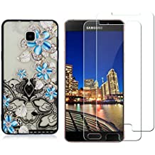 YKTO Cristal Templado + Funda Samsung Galaxy A5 2016 A510 5.2 Pulgadas Fina 3D Moda Dibujos