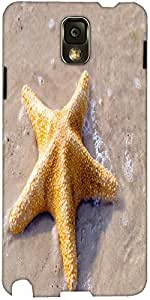 Snoogg Starfish At The Exotic Beach Designer Protective Back Case Cover For S...