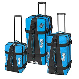 Bogi Bag Suitcase Trolley Travel Bag Suitcase Wheels 110 L Assorted Colours by INSPIRION