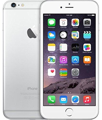 Apple iPhone 6 Plus (Silver, 16GB) (Certified Refurbished)