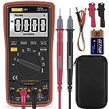 Digital Multimeter Auto-Range 6000Counts Strommessgerät Voltmeter Ohmmeter Amperemeter, Temperatur, Außenleiter-Identifizierung, True RMS, Durchgangsprüfung, für professionelle Anwender