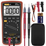 Digital Multimeter,Thsinde Auto digital multimeter Measures Voltage Current Resistance Continuity Capacitance Frequency tests