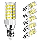 MENTA Lampadina LED E14 10W Equivaleni a 80W, Bianco Fredda 6000K, 800LM, Non-Dimmerabile, AC220-240V, 360 Angolo a fascio, Lampadine LED E14 SES, 5 Pezzi