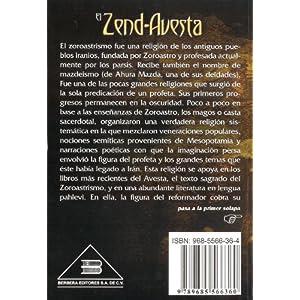 Zoroastro el Zend-Avesta / Zoroaster The Zend-Avesta: La Ciencia Oculta de los Sacerdotes Magos de Persia / The Occult Science of the Wise Priest of P
