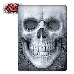 SPIRAL - Plaid - Solemn Skull - Noir