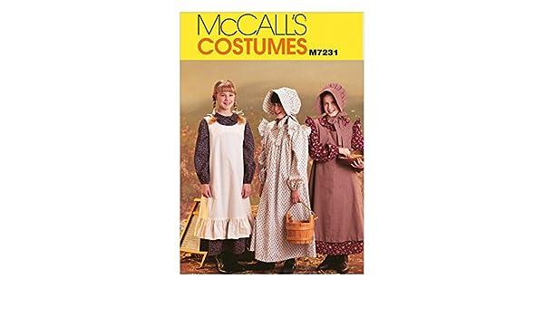 Unbekannt McCall s Damen Schnittmuster 7306/Korsett /& Reifrock K/äfig Kost/üm