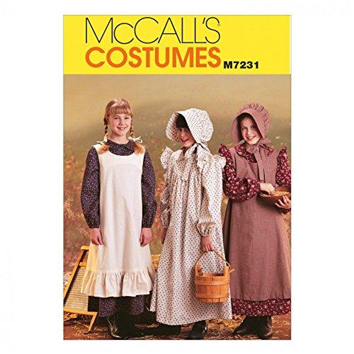 Unbekannt McCall 's Mädchen Schnittmuster 7231historischen Pioneer ()