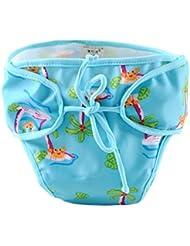 Couches de natation de bébé réglables réutilisables Nappes de bébé Coupe de natation étanches de bébé, # 12