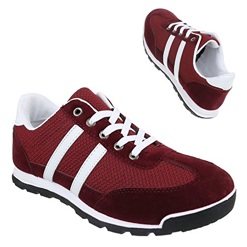 Ital-Design , Sneakers Basses homme Rouge - Rouge