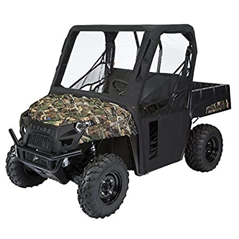Classic Accessories 18-124-010401-00 Black QuadGear UTV Cab Enclosure by Classic Accessories