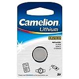 Camelion 13001032 - Pila de botón de litio, 3 V