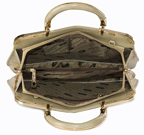 Big Handbag Shop, Borsa a mano donna Taglia unica Maroon