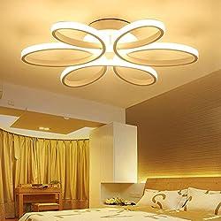 LED Lámparas de techo dormitorio de cama de matrimonio dormitorio de cama Romantica cálida Camera de bodas la niña moderna iluminación de salón moderna Luces de techo , warm light