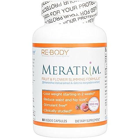 Meratrim, Fruit Flower Slimming Formula, 60 Veggie Caps - ReBody