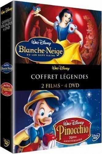 Coffret Blanche neige et les sept nains / Pinocchio