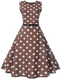 93c20727a285 Amazon.it  Audrey Hepburn - Marrone   Vestiti   Donna  Abbigliamento