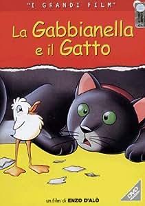 La gabbianella e il gatto [Import anglais]