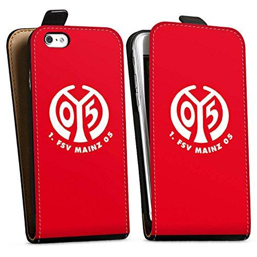 Apple iPhone 6s Silikon Hülle Case Schutzhülle 1. FSV Mainz 05 e.V. Fanartikel Fußball Downflip Tasche schwarz