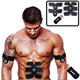 Rechargeable Muscle Stimulation Electrical Smart Training Gear / Abs Fit,Fat Burning for Abdomen Fit Training