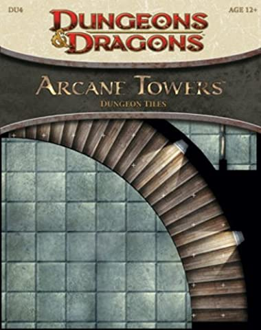 Arcane Towers - Dungeon Tiles: Dungeon Tile Set Du4 (D&d Accessory D&d Accessory) (Dungeons & Dragons) by Wizards of the Coast (2009-06-16)