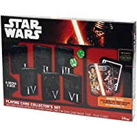 Cartamundi - 100182127 - Star Wars - Coffret Collector - 6 Jeux En Etui
