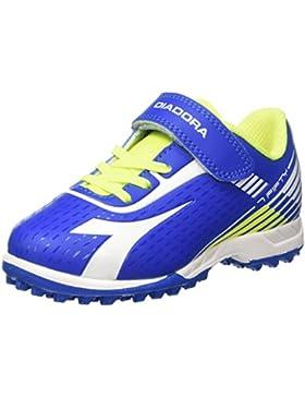 Diadora 7fifty TF Jr Ve, para los Zapatos de Entrenamiento de Fútbol Unisex Niños
