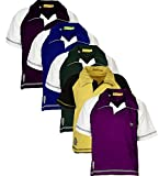 #1: Goodway Pack of 5 Boys Polo Tshirt
