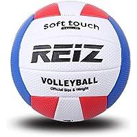 DFG-ES Pelota de Voleibol Bola de Entrenamiento de competición Exterior REIZ de Interior Bola de Voleibol de tamaño Oficial