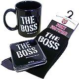 The Boss Mug Gift Set by Simon Elvin