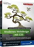 Produkt-Bild: Modernes Webdesign mit CSS - Kreative Praxislösungen für moderne Webseiten
