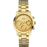 Guess W0448L2 - Reloj con correa de metal, para mujer, color dorado de Guess