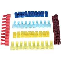 KKmoon 60/30 pares Clips para hormigas + terminales de nylon completamente aislados