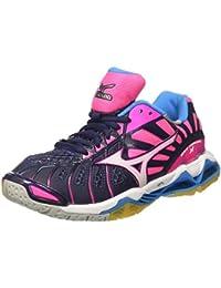 Mizuno Wave Tornado X Wos, Zapatos de Voleibol para Mujer