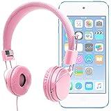 DURAGADGET Auriculares De Diadema Color Rosa Para Apple iPod Touch ( 6 / 5 / 4 / 3 / 2 / 1 Generación ) - Alta Calidad - ¡Perfectos Para Combinar Con Su Móvil!
