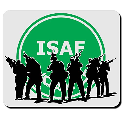 ISAF in Action Truppe Elite Einheit Silouette Einheit- Mauspad Mousepad #2769m
