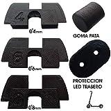 3dPrinted 3X Amortiguador de Goma 3D Flexible Anti holgura y vibración, 1x tapón Goma Patilla, 1x...