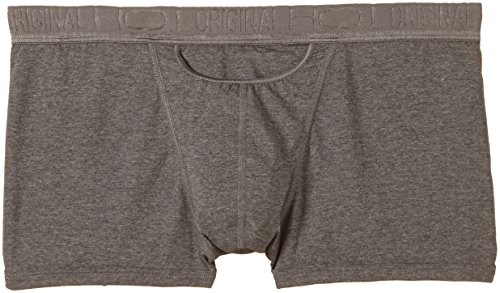 HOM Herren Boxershorts HO1 Original New Maxi Grau (GREY COMBINATION M013)