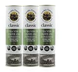 Olivenöl Extra Vergine Kaltgepresst aus Kreta-Griechenland |Extra Nativ 0,2% |PREMIUM| MediterranMarkt.de (3 x 1Liter)