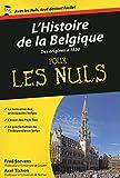 L'Histoire de la Belgique, Tome 1 Poche Pour les Nuls (01)