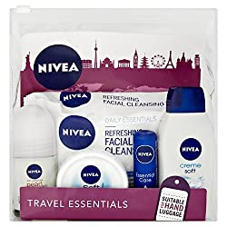 Nivea For Women Travel Pack (Suitable For Hand Luggage) (35ml Deodorant, Shower Cream, Lip Care, Cleansing Wipes & Creme)(pack of 5)
