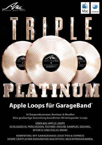 AMG Triple Platinum Apple Loops – 10 Starproduzenten, Remixer & Musiker