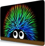 Sidorenko Gaming Mauspad | 280 x 200mm | Mousepad | Spezielle Oberfläche verbessert Geschwindigkeit und Präzision | Fransenfreie Ränder | Rutschfest | Schwarz