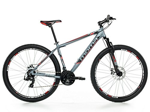 MOMA   BICICLETA MONTAÑA MOUNTAINBIKE 29 BTT SHIMANO  ALUMINIO  DOBLE DISCO Y SUSPENSION  M (1 60 1 74M)