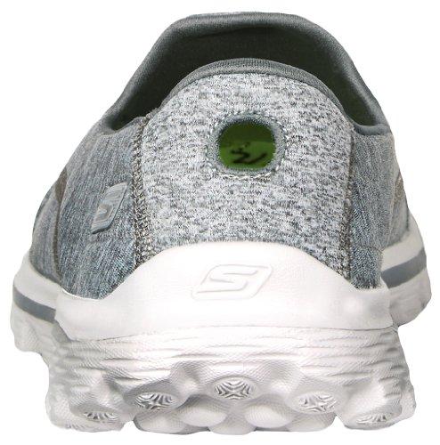 Skechers Performance Women's Go Walk 2 Circuit Slip-On Walking Shoe,Grey,8 M US