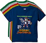 #2: KGB's multicoloured cotton t shirts for boys pack of 5