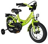 BIKESTAR® Premium Kinderfahrrad für sichere und sorgenfreie Spielfreude ab 3 Jahren ★ 12er Classic Edition ★ Brilliant Grün